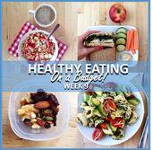 GESUNDES ESSEN IM HAUSHALT – WOCHE 9   – Lunch/dinner ideas