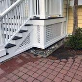 Top 50 Best Deck Skirting Ideas – Elevated Backyard Designs