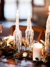 Tabletop with bottle: See beautiful ideas to decorate the table