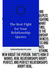 The Best Fight for Your Relationship Quotes