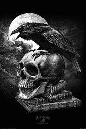 Alchemy Poster Poe's Raven