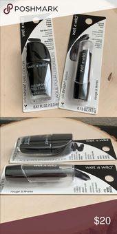 Moist N Wild Set Black Lipstick & Polish Make-up Moist N Wild Set  Model New Sealed  …