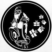 NIKOLAUS AUF MOTORRAD, MOTORRADBILDERN, HEMD | Damen, Premium, Tanktop – Bild …   – Motorrad Frauen Lustig
