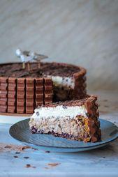 Kinderschokolade Torte – Kuchen & Torten