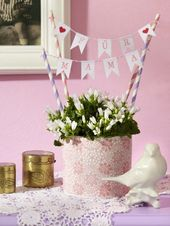 Mother's Day: gifts to make yourself