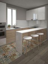 Beste Bilder, Design und Dekor zu Küchenböden, Fliesenmuster. inex