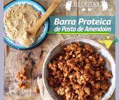 Existem 3 ingredientes muito importantes nesta receita da barra de proteínas em pasta.   – Solange