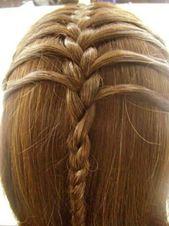 halboffene Flechtfrisur – Sommer-Haartrends – #Dut…
