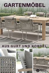 Gartenmobel Aus Gurt Und Kordel Gartenmobel Design Gartenmobel Gartenhaus Holz