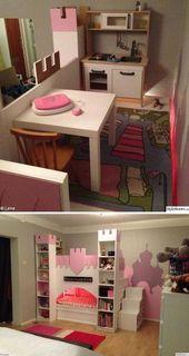 Alles, was eine kleine Prinzessin in ihrem Schlafzimmer braucht