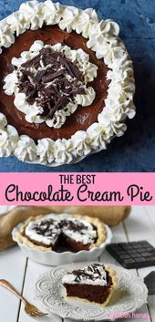 Chocolate Cream Pie – Modern Honey