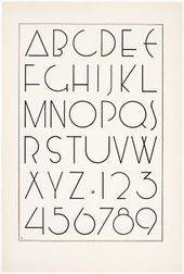 Irene K. Ames, Ein Portfolio von Alphabet Designs für Künstler, …