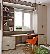 71+ Belles idées de design de bureau à domicile avec lesquelles vous aimez travailler
