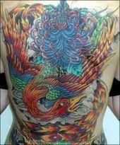 Yakuza Tattoo Phoenix Body Art In 2020 Phoenix Tattoo Design Tattoo Designs And Meanings Phoenix Bird Tattoos