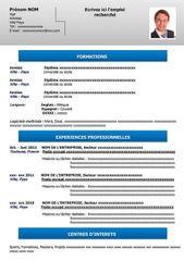 Exemple De Cv Simple Gratuit A Telecharger Resume Words Curriculum Vitae Free Resume Template Word