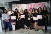 Abschlussprüfung unserer Studierenden im Make-up- und Haarstyling-Kurs. Schminka …   – Make UP