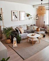 """Bohemian Inspirations auf Instagram: """"Reden wir über #neutraldecor 🤗. Die Erdtöne in diesem wunderschönen Raum sind unglaublich! 💖 Was ist mit … – more the merrlier collage art"""