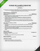 resume format for nurses