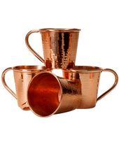 PITCHER Bisotun 76 Oz Beverage Heavy Gauge Pure Copper Stainless Steel Handle