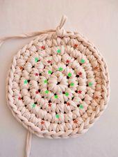 Tutoriel pour un rond parfait crocheté en mailles serrées sur un noeud magique