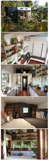 Das Portal Ein schönes Zuhause von The Tiny House Company Durchgehende Sicht