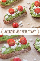 Avocado and Feta Toast