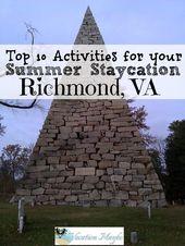 Bereisen Sie Ihre Stadt – Richmond VA Staycation Ideen – Staycations