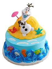 Frozen Olaf Disney Cake