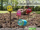 Mache ein niedliches Upcycled-Kinderhandwerk mit alten Blechdosen und Dingen aus dem Doll
