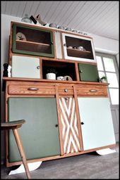 Relooking de meubles style vintage – retro  – Haus