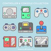 Download Pack Of Consoles And Controls for free