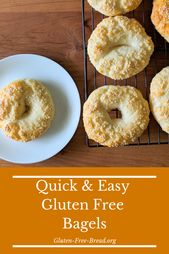 Gluten Free Gum-Free Bagels