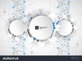 Abstract Technological Background Structure Square Pattern Stock Vector (Royalty Free) 551661208