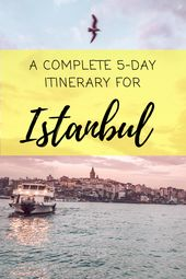 Best things to do in Istanbul. What to do in Istanbul. Travel itinerary for Ista…
