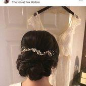 Bruiloft haaraccessoires, bruids zendspoel, Gouden bloem zendspoel Hair clip, bloem zendspoel, bruids toebehoren, Gouden Bruids terug stuk