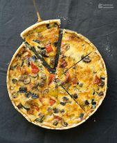 Ratatouille-Quiche (Gemüsekuchen) – Herzhafte Rezepte mit Fleisch und Fisch