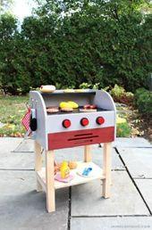 Kinder Holzspielzeug Grill #kidswoodcrafts