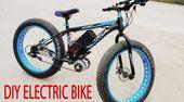 DIY Electrical Bike 40km/h Utilizing 350W Reducer Brushless Motor