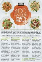 POPSUGAR #400caloriemeals 400 calorie pasta meals #fastdiet #400caloriemeals POP…