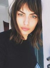 15+ Messy Bob With Bangs | Bob Hairstyles 2018 – Short Hairstyles for Women