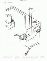 Mercruiser Trim Solenoid Wiring Electrical Diagram Boat Restoration Diagram