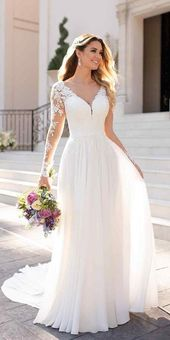 30 Herbst Brautkleider mit Charme, Herbst Brautkleider eine Linie mit illus … – Alles ist da