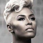 5 Best Grey Mohawk Frisur für Black & White Women   # Hairstyles2018 #HairstylesAbs …, …