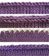 Erobere vier verschiedene Bind-offs (und lerne, wann sie je … – Knitting 2019 …