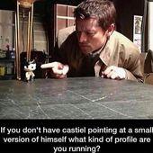 """Sobrenatural – agosto (él / él) en Instagram: """"algunas cosas estoy seguro de que todos ustedes …   – castiel – Misha"""