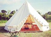 Cotton canvas bell tent,camping tent ,canvas tent,wedding tent #festivaltentsetu…