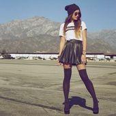 La corolle de jupe pour une silhouette avec un halo – Fashionista ❤ – #with #co …   – Jupes