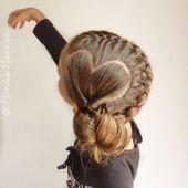 Schöne süße Frisuren für langes Haar für die Schule #einfache #zöpfe #flec… – Kostüme