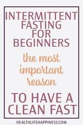 why salt is not allowed in fast  Intermittent fasting for beginners. The most im…