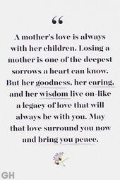 Diese schönen Zitate werden helfen, jeden zu trösten, der seine Mutter verloren hat – Spreuken